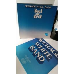AVERAGE WHITE BAND feel no fret, gatefold, XL 13063