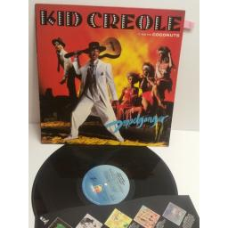 KID CREOLE AND THE COCONUTS doppleganger ILPS9743 WITH FILM FLYER INSERT