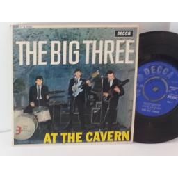 SOLD: THE BIG THREE at the cavern, 7 inch single, DFE 8552