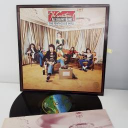 "THE SENSATIONAL ALEX HARVEY BAND, the penthouse tapes, 12"" LP, 9102 007"