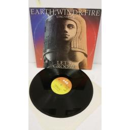 EARTH, WIND & FIRE let's groove (long version), 12 inch single, A 13-1679