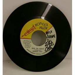 FRANKIE PAUL rock you steady, 7 inch single