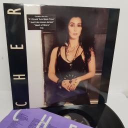 "CHER, heart of stone, WX 262, 12"" LP"