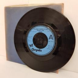 "BLONDIE, (I'm always touched by your) presence dear, B side poets problem + detroit, 7"" single, misprint"