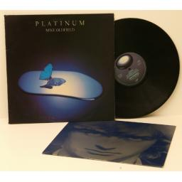 MIKE OLDFIELD, Platinum Silvered picture inner sleeve. 1979. Virgin. [Vinyl]