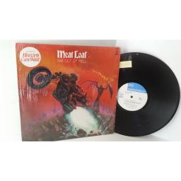 MEATLOAF bat out of hell, PE 34974