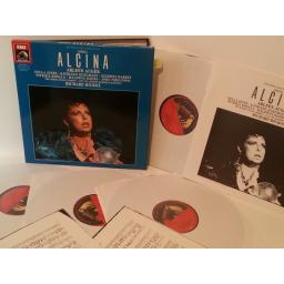 HANDEL alcina, 4 record box set, libretto, 27 0390