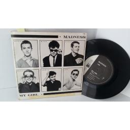 SOLD: MADNESS my girl, 7 inch single, BUY 62