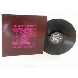 SISTERS OF MERCY the reptile house E.P