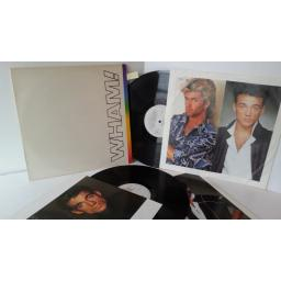 WHAM the final, 2 xlp, 88681, picture insert