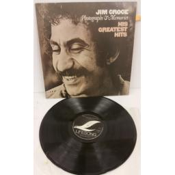 JIM CROCE photographs & memories: his greatest hits, ELSP 5000