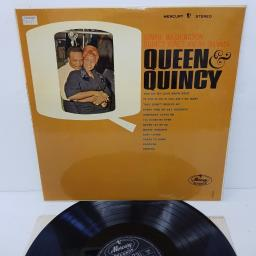 "DINAH WASHINGTON, QUINCY JONES AND HIS ORCHESTRA, queen and quincy, 20049 SMCL, 12"" LP"