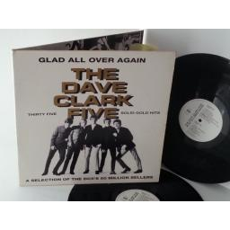 SOLD: THE DAVE CLARK FIVE glad all over again, double album, gatefold, EMTV 752