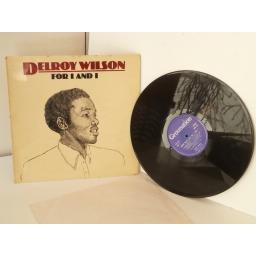 SOLD: DELROY WILSON for I and I, vinyl Lp