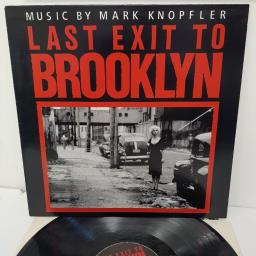 MARK KNOPFLER, last exit to brooklyn, 838 725-1, 12 inch LP