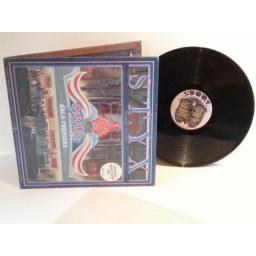 STYX Paradise Theatre EXCLUSIVE LASER ETCHED DISC