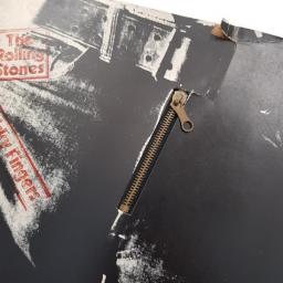 THE ROLLING STONES sticky fingers, large zip sleeve