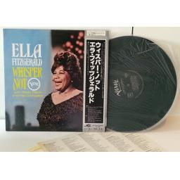 ELLA FITZGERALD WITH MARTY PAICH AND HIS ORCHESTRA whisper not