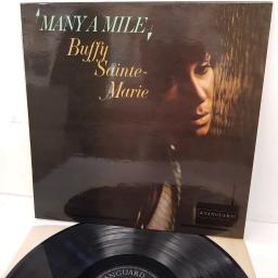 BUFFY SAINTE-MARIE, many a mile, SVRL 19031, 12 inch LP
