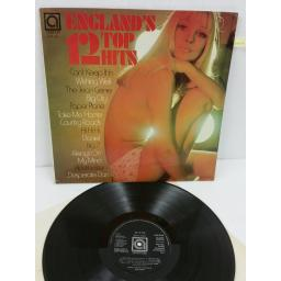ALAN CADDY ORCHESTRA & SINGERS england's top 12 hits, AVE 0130