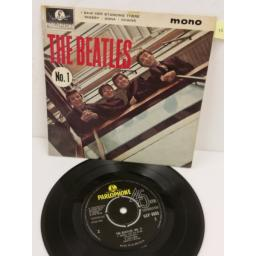 THE BEATLES the beatles no. 1, 7 inch single, GEP 8883