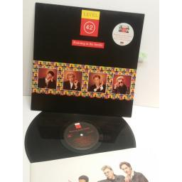 LEVEL 42 running in the family POLH42 VINYL LP