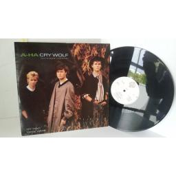A-HA cry wolf, 12 inch single, W8500T