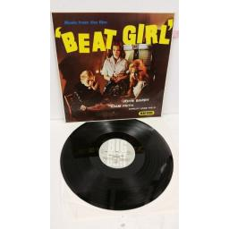 JOHN BARRY, ADAM FAITH, SHIRLEY ANNE FIELD music from the film 'beat girl', WIK 31