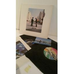 PINK FLOYD wish you were here With post card. uk pressing 1975 emi [Vinyl]