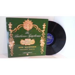 BEETHOVEN. Klemperer, The Beethoven Symphonies No 4. Columbia 33CX1702 Blue & Gold label mono ED1