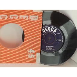 SOLD THE REDCAPS talking about you, 7 inch single, F 11789