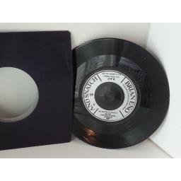 SOLD: BRIAN ENO kings lead hat, 7 inch single, 2001 762