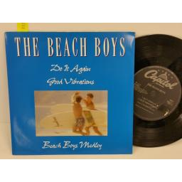 THE BEACH BOYS do it again, PICTURE SLEEVE, 7 inch single, EMCT 1