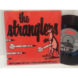 "THE STRANGLERS nucleur device (the wizard of aus), 7"" single, BP 318"