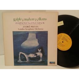 RALPH VAUGHAN WILLIAMS, ANDRE PREVIN, LONDON SYMPHONY ORCHESTRA symphony no. 9 in e minor, GL 89696