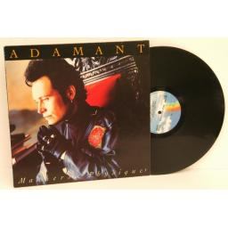 ADAM ANT, manners & physique.