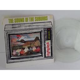 THE MEMBERS the sounds of the suburbs, 7 inch single, clear vinyl, VS 242