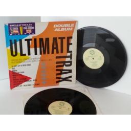 BATTLE OF THE D.J'S WORLD CHAMPION DJ CHEESE USA vs UK CHAMPION CHAD JACKSON ultimate trax, vinyl LP, double album