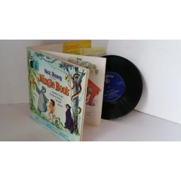 VARIOUS the jungle book, 7 inch single, gatefold with 24 page booklet, LLP 319