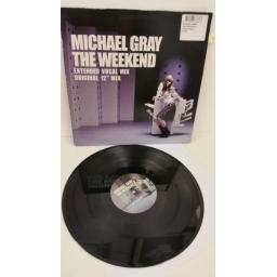 MICHAEL GRAY the weekend, 12 inch single, 9868866