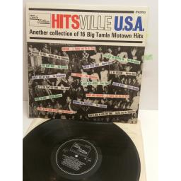 HITS VILLE U.S.A. another collection of 16 big tamla motown hits THE MIRACLES, BRENDA HOLLOWAY, MARVIN GAYE, THE MARVELETTES, MARTHA AND THE VENDELLAS TML 11019