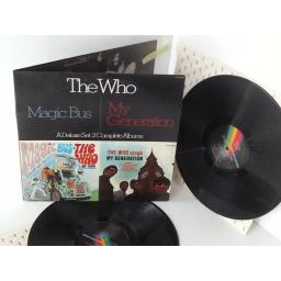 THE WHO magic bus, my generation, double album, gatefold, MCA2-4068