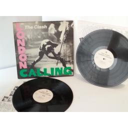 THE CLASH london calling, vinyl LP, double album