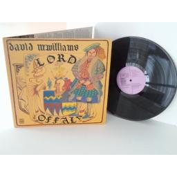 DAVID McWILLIAMS lord offaly, vinyl LP, gatefold
