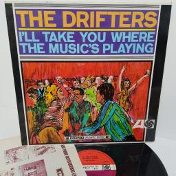 "THE DRIFTERS, i'll take you where the music's playing, 587061, 12"" LP"