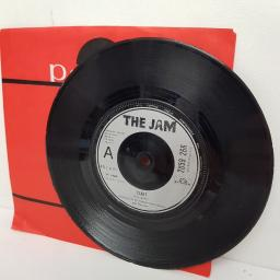 "THE JAM, start, B side liza radley, 2059 266, 7"" single"