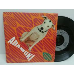 ADAMSKI (SEAL) killer & bass line saved my life. 7 inch picture sleeve. mca 1400