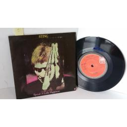 STING spread a little happiness, 7 inch single, AMS 8242