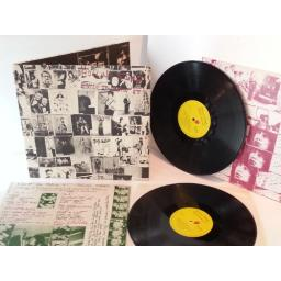 ROLLING STONES exile on main st, gatefold, double album, catalogue number coc 69100