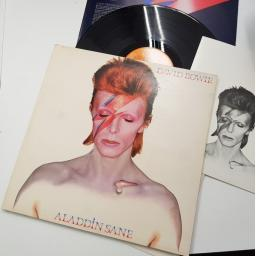 DAVID BOWIE aladdin sane, RS 1001, lyric insert